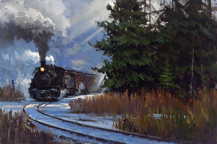 Round the Bend by David Tutwiler