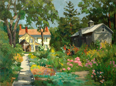 "Line' Tutwiler's ""Gardens at the Grizwald Museum"""
