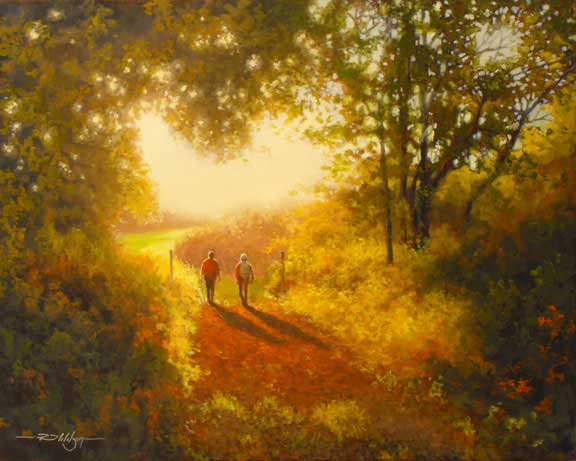 """Evening Walk"" by Rick Wilson"